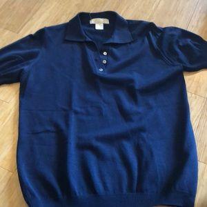 Brooks brothers size medium collared shirt.